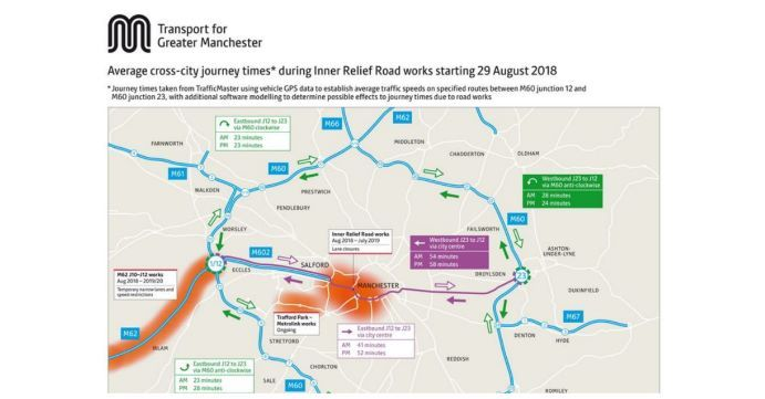 Transport Map for Greater Manchester - Hay Lets Communicate